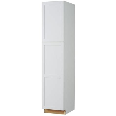 white pantry cabinet lowes shop now arcadia 24 in w x 84 in h x 23 75 in d
