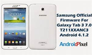 Official Firmware  Update Samsung Galaxy Tab 3 7 0 Wifi