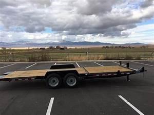 2020 22 Ft  17000 Gvwr Deluxe Wood Tilt Deck