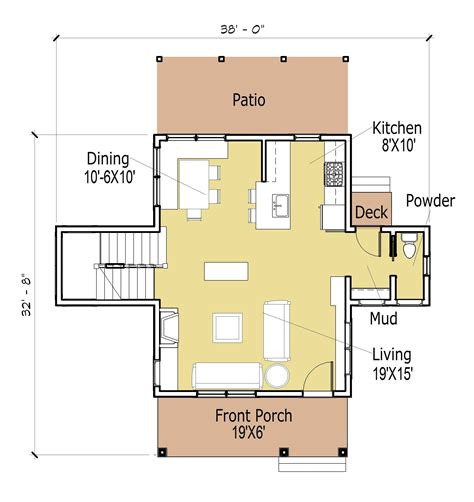 Cottage Floor Plans Small House Floor Plans Small Cottage House Plan