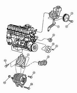 2013 Dodge Journey Pulley  Power Steering Pump