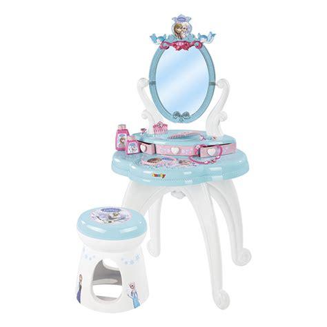 siege table bebe coiffeuse 2 en 1 la reine des neiges smoby king jouet