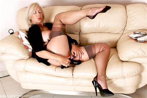 Secretly Stuffed With Amazing Dark Lewd Trash Business Studies In Nylons Stuffing Her Lips