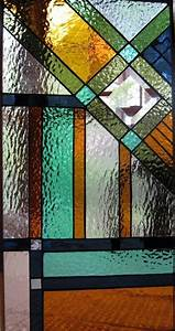 Handmade Southwest Style Stained Glass Panel By Windflower