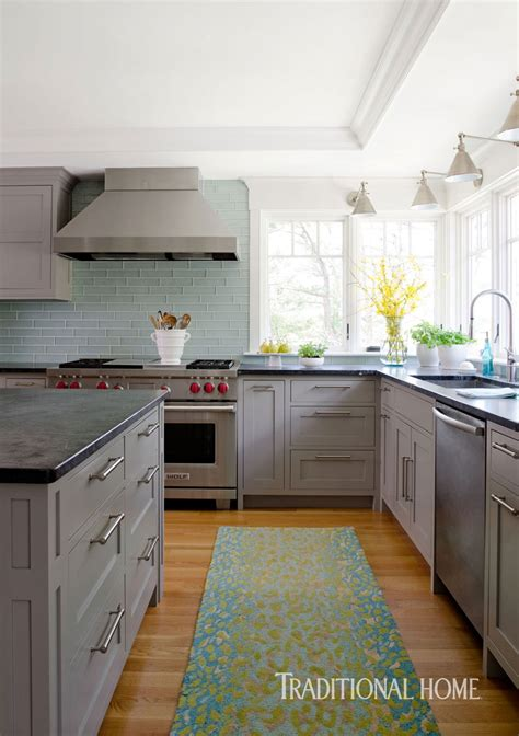 coastal kitchen   bright bump  traditional home