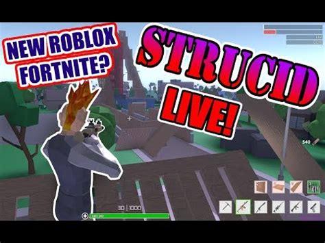strucidnew roblox fortnite roblox  stream youtube