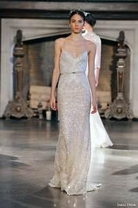 Inbal dror fall 2015 wedding dresses wedding inspirasi for Sequined wedding dress