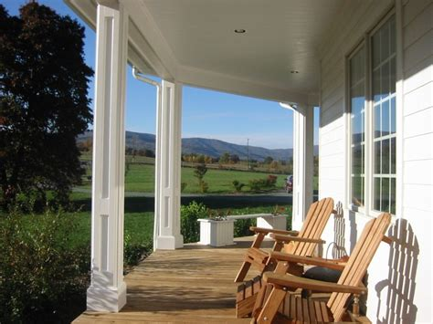 Exterior Breathtaking Image Of Small Front Porch