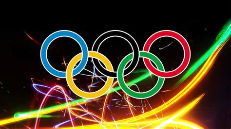 olympische ringe  hintergrundbild