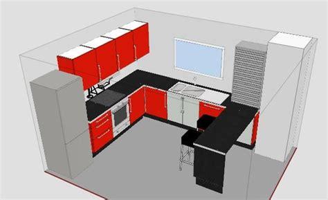 ikea cuisine 3d pour plans rdc influence de la cuisine construction de