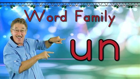 word family  phonics song  kids jack hartmann