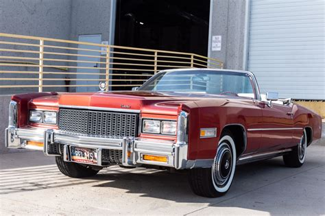 cadillac eldorado convertible  sale  bat