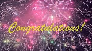 Congratulations - YouTube