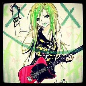 54 best Anime girls with guitars images on Pinterest ...