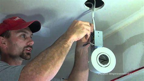 install  pot light  switch youtube