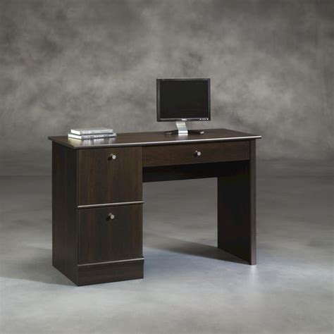 menards sauder computer desk sauder select cinnamon cherry computer desk at menards 174