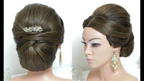 beautiful juda hairstyle  long hair wedding style