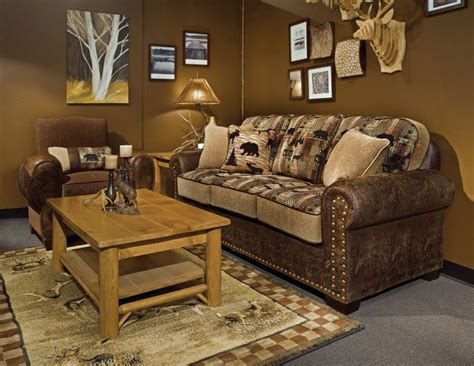 Rustic Lodge Furniture & Interior