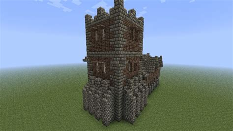 Fortified House Minecraft Project
