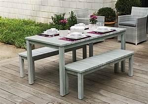 banc jardin castorama superior tonnelle de jardin With ordinary tente pour jardin pas cher 3 table de restaurant