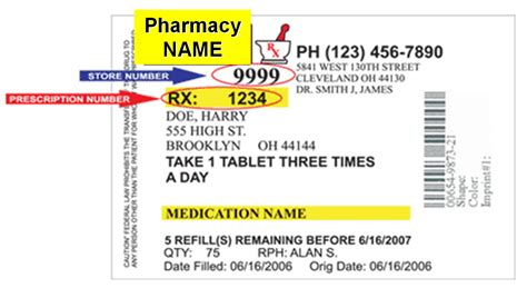 prescription label template the gallery for gt prescription label template