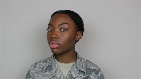 natural hairmilitary  professional hairstyles  women