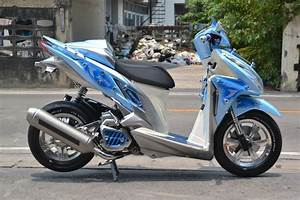 Modifikasi Honda Click 125  Vario 125  By Likit Racing