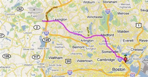 bike route  paul revere biking bis