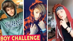 Boy Challenge (Girls Turn Into Boys) - Funny Musically ...