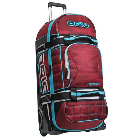 ogio motocross gear bags ogio new mx rig 9800 red haze gearbag travel luggage