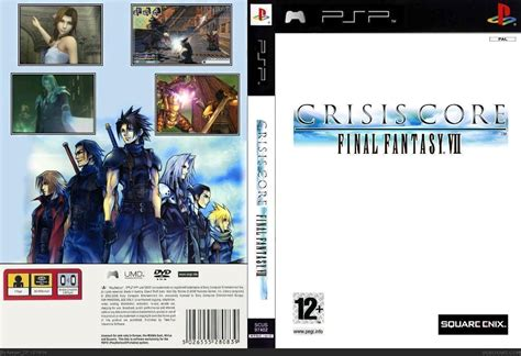 Crisis Core Final Fantasy Vii Psp Box Art Cover By Keeperdp