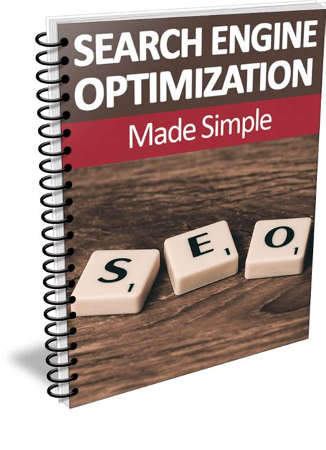 Search Engine Optimization Made Simple Report
