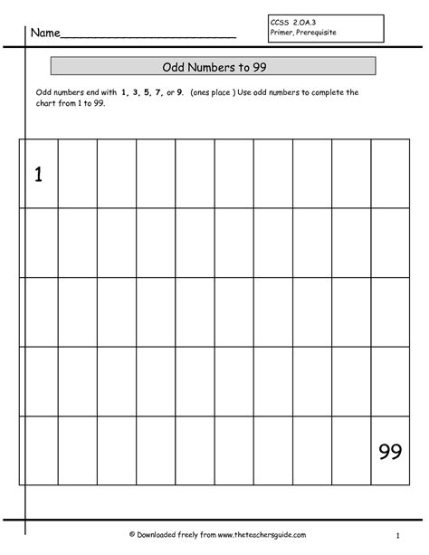 14 best images of writing 1 to 100 worksheets writing