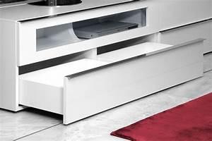 Möbel Outlet Online : lowboard media 3000 wei wei hochglanz von loddenkemper m bel letz ihr online shop ~ Indierocktalk.com Haus und Dekorationen