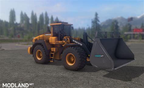 Volvo l220 V4 LantmanenFS mod Farming Simulator 17
