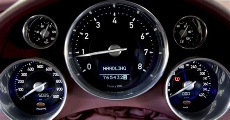Bugatti Speedometer