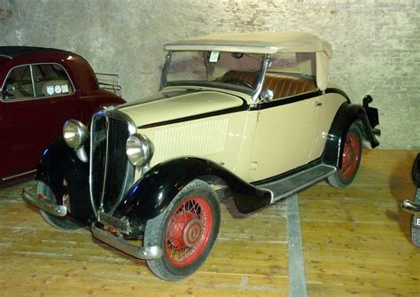 1934 Fiat 508s Balilla Related Infomationspecifications