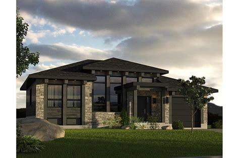 transitional prairie house plan  bedrms  baths  sq ft