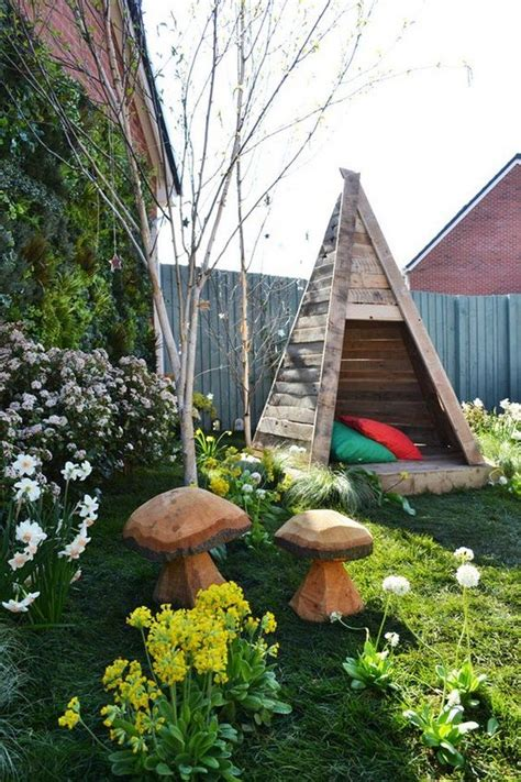 build  kids  wooden teepee tent diy projects