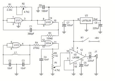 Electronic Circuit Diagram Electro Schematic Metal