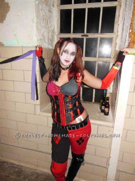 Sexy Harley Quinn Homemade Halloween Costume