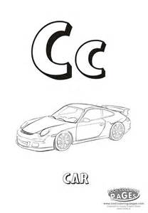 Cool Letter C Coloring Pages