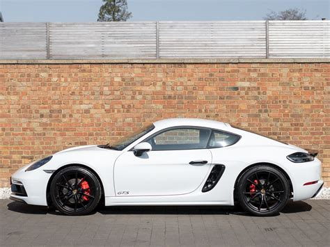 White 2018 718 cayman gts. 2018 Used Porsche 718 Cayman Gts Pdk | Carrara White