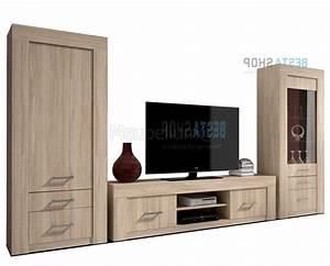 Mur Tv Bois : meuble mural bois meubles de design d ~ Teatrodelosmanantiales.com Idées de Décoration