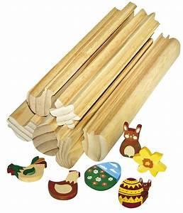Mit Holz Basteln : profilholzstangen ostern 6er set zum selbstgestalten ~ Lizthompson.info Haus und Dekorationen