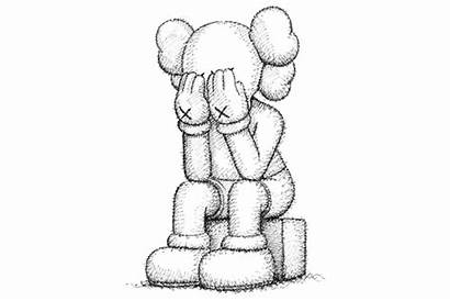 Kaws Hypebeast Sketches Union Through Passing Drawings