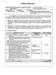 Revised Pct For Program Registration