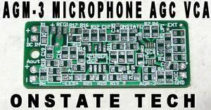Ssm Sensitive Microphone Audio Agc Alc Pcb Diy