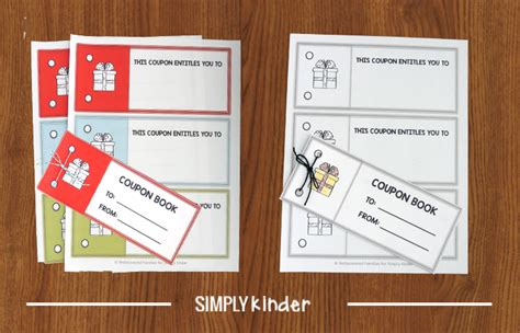 printable coupon template   gift classles democracy