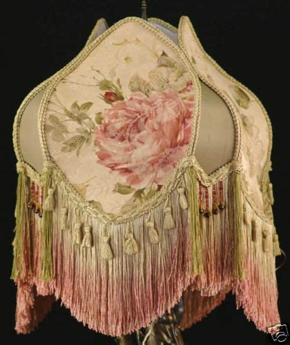 vintage style l shades vintage style victorian lamp shade silk fabric croscill ebay